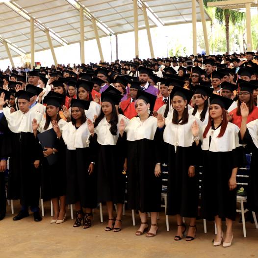 UASD Centro San Juan de la Maguana gradúa 596 nuevos profesionales de diferentes áreas en su XXIX investidura ordinaria de grado y VIII de postgrado