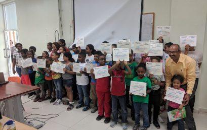 Culmina el 6to Campamento Infantil de Verano UASD Centro San Juan De la Maguana.
