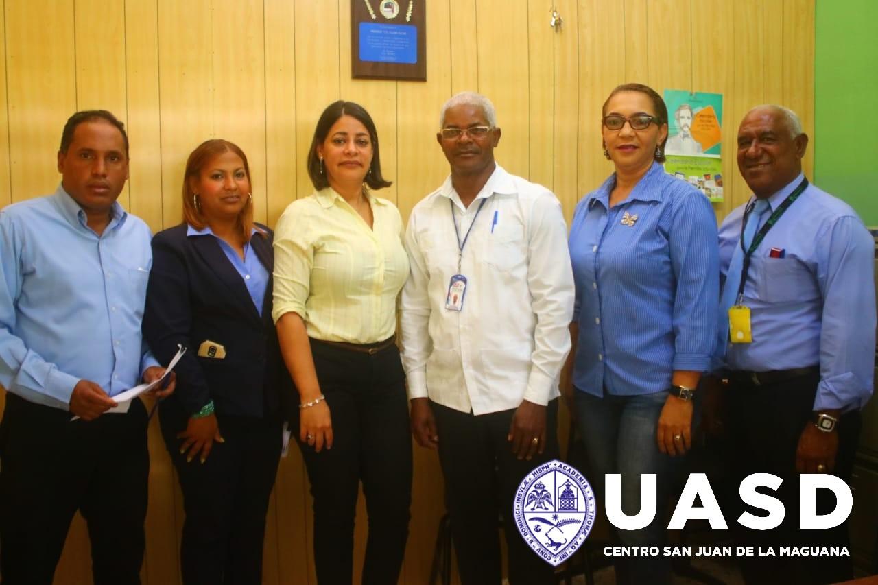 Comisión UASD San Juan visita Centros Educativos en El Cercado
