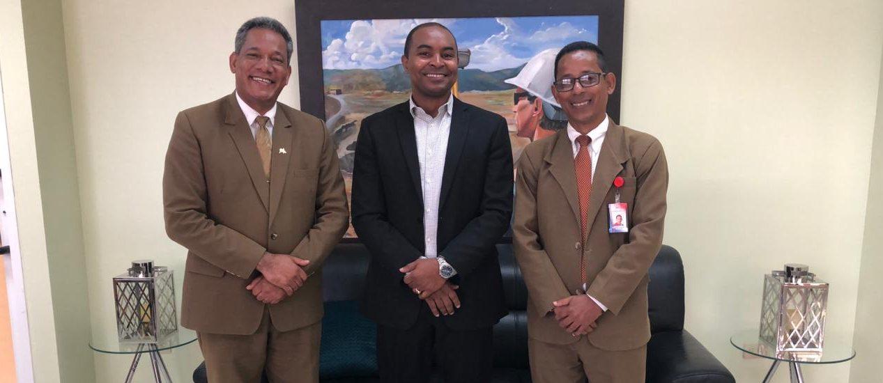 Director UASD San Juan recibe visita de director del Centro Educativo Francisco del Rosario Sánchez