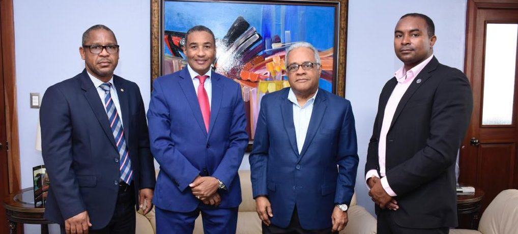 UASD Centro San Juan de la Maguana visita Ministro de Salud Pública