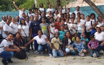 """Grupo Monográfico de UASD Centro San Juan de la Maguana visita Orfanato """"Buen Samaritano"""" en Vallejuelo"""