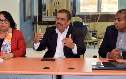 Rectora de la UASD Dra. Enma Polanco realiza encuentro con senadores de San Juan y Elías Piña