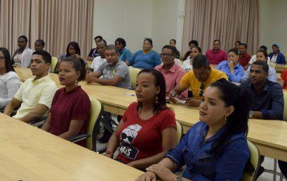 Inauguran Curso Monográfico 98, equivalente a Tesis de Grado en Ciencias de la Educación en UASD Centro San Juan