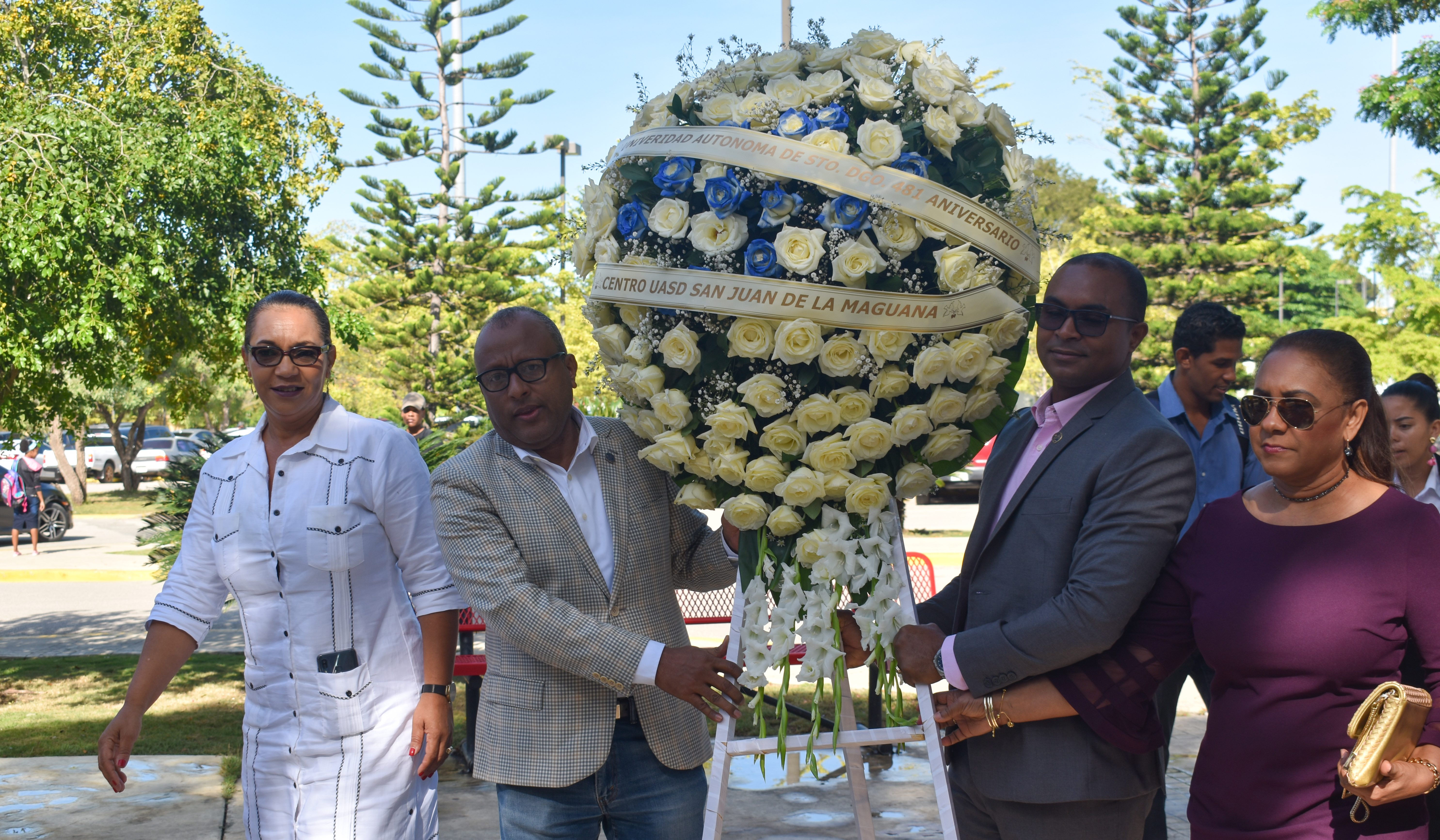 UASD Centro San Juan realiza Misa y Ofrenda Floral en conmemoración al 481 Aniversario de la Universidad Autónoma de Santo Domingo