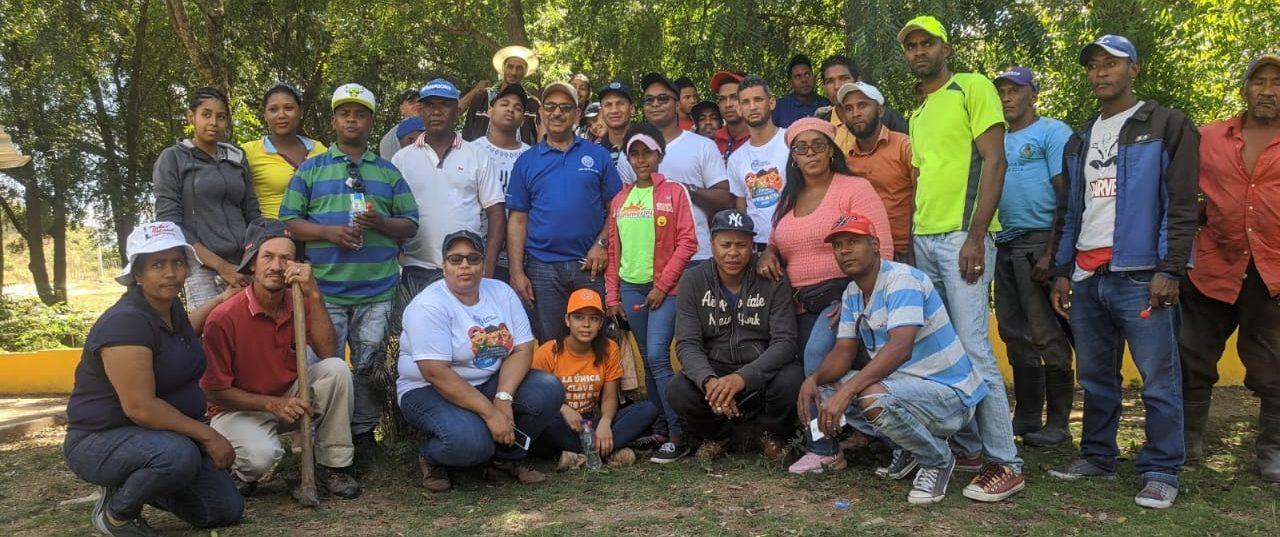 UASD San Juan realiza Jornada de Reforestación en el municipio de Vallejuelo