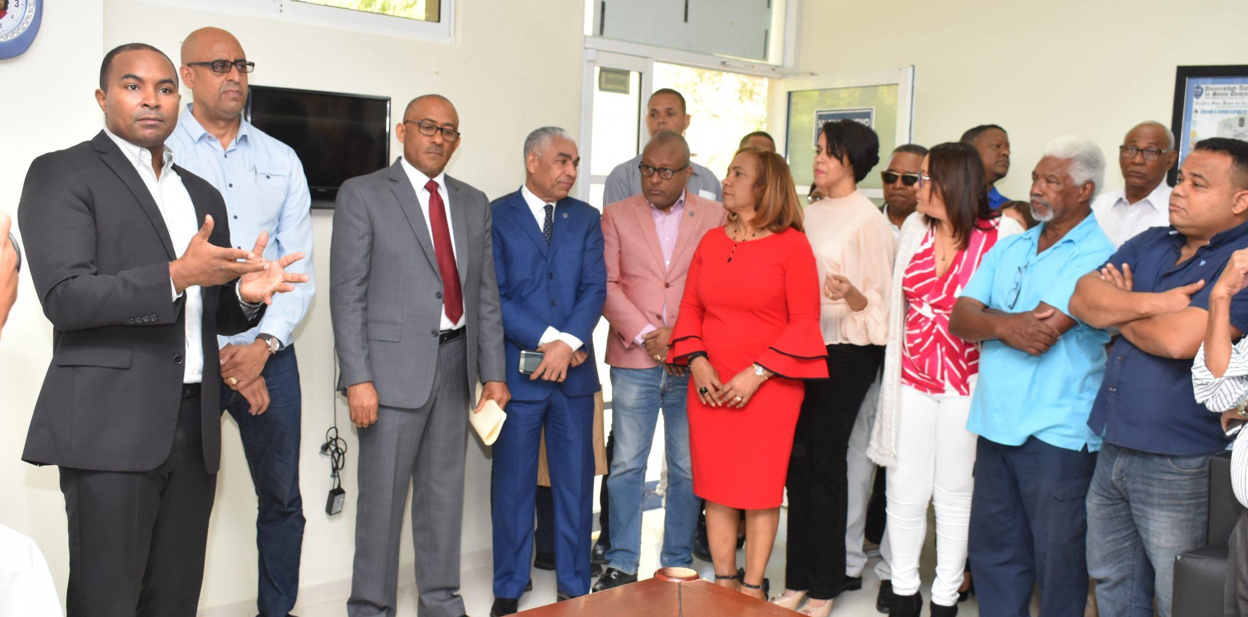 UASD Centro San Juan de la Maguana recibe maestros para el semestre 2020-10
