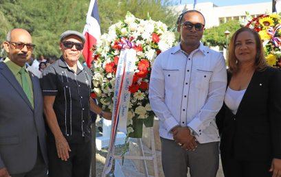 UASD Centro San Juan de la Maguana participa acto conmemorativo al 204 aniversario del natalicio del prócer Matías Ramón Mella