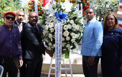 UASD Centro San Juan de la Maguana participa en misa y Ofrenda Floral en conmemoración al 203 aniversario del natalicio del prócer Francisco del Rosario Sanchez