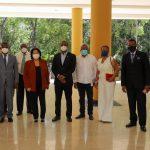 Rectora y vicerrector de la Universidad Autónoma de Santo Domingo sostienen reunión con autoridades UASD San Juan