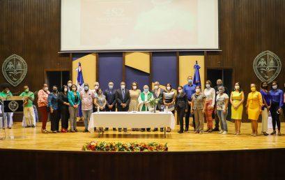 UASD San Juan realiza Misa y Ofrenda Floral con en conmemoración al 482 Aniversario de la Universidad Autónoma de Santo Domingo