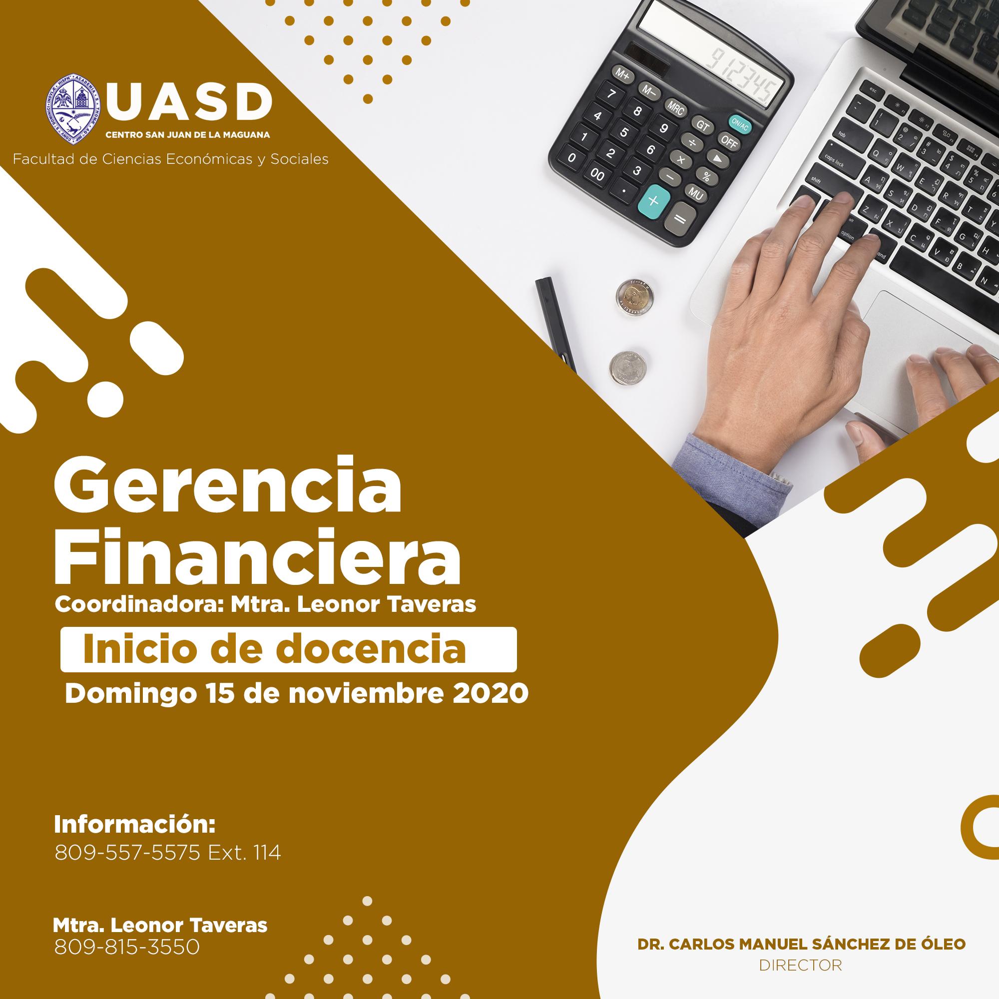 """UASD Recinto San Juan de la Maguana iniciará Maestría en """"Gerencia Financiera"""""""