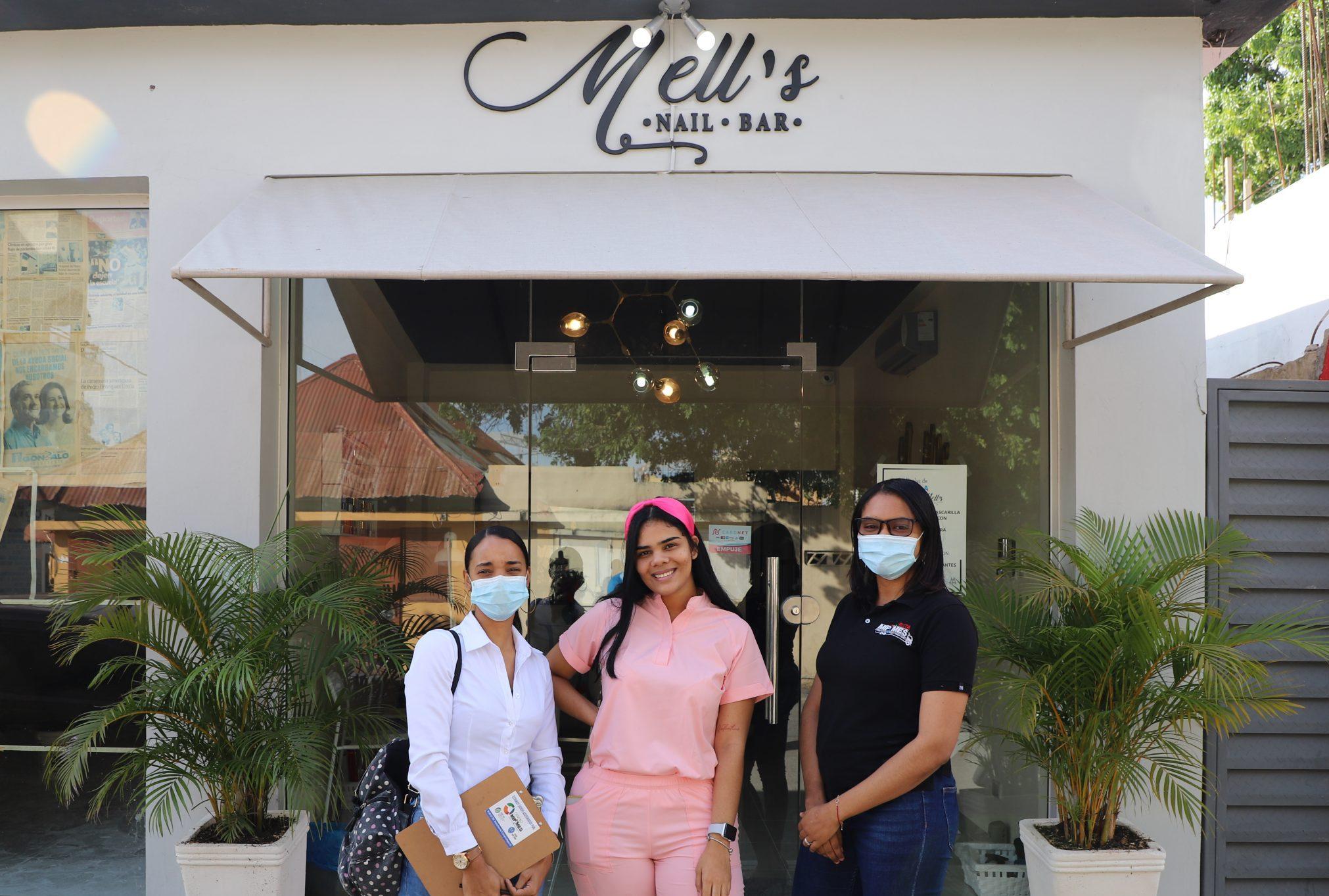 """""""Mell's Nail Bar"""", caso de éxito Centro Mipymes UASD San Juan"""