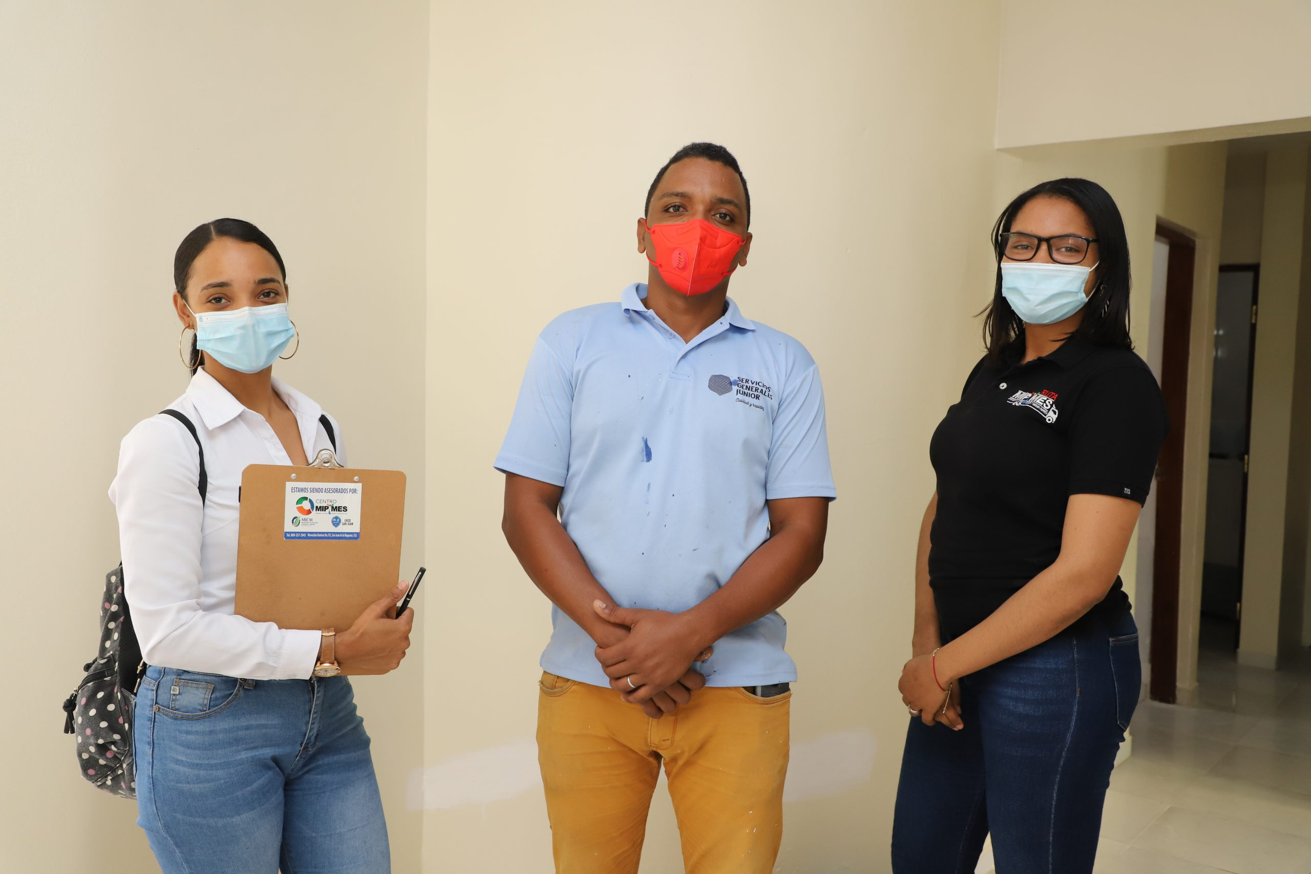 """""""Servicios Generales y de Mantenimiento Junior"""", caso de éxito Centro Mipymes UASD San Juan"""