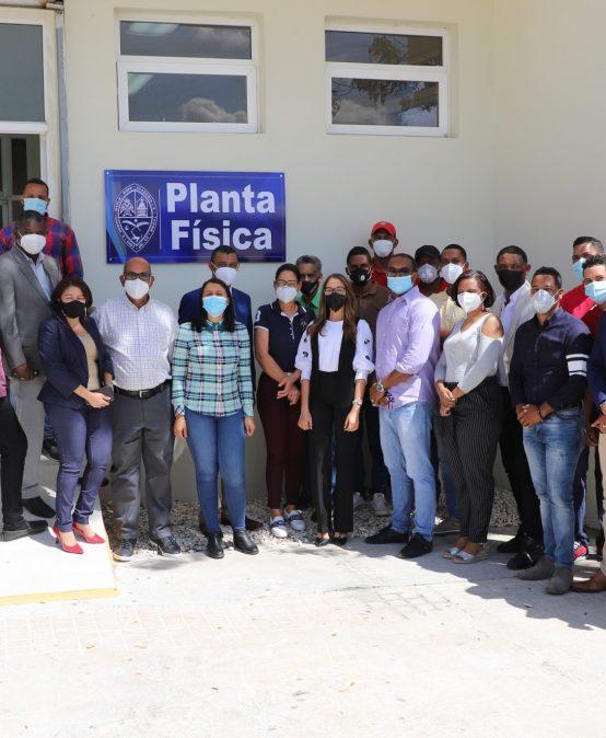 Inauguración Unidad de Planta Física