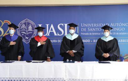 UASD Recinto San Juan realiza Investidura De Grado y Postgrado
