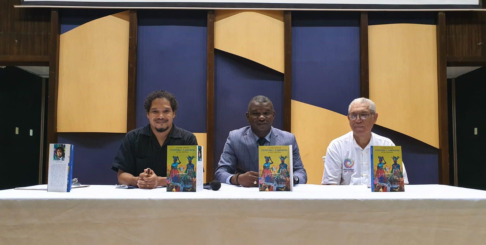 """Puesta en circulación del libro """"Cuatro años de Cultura y carnaval en San Cristóbal"""""""