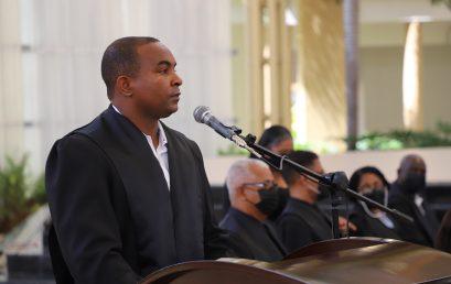 Honras fúnebres a los restos del académico Dioris Ariel Abreu Soriano